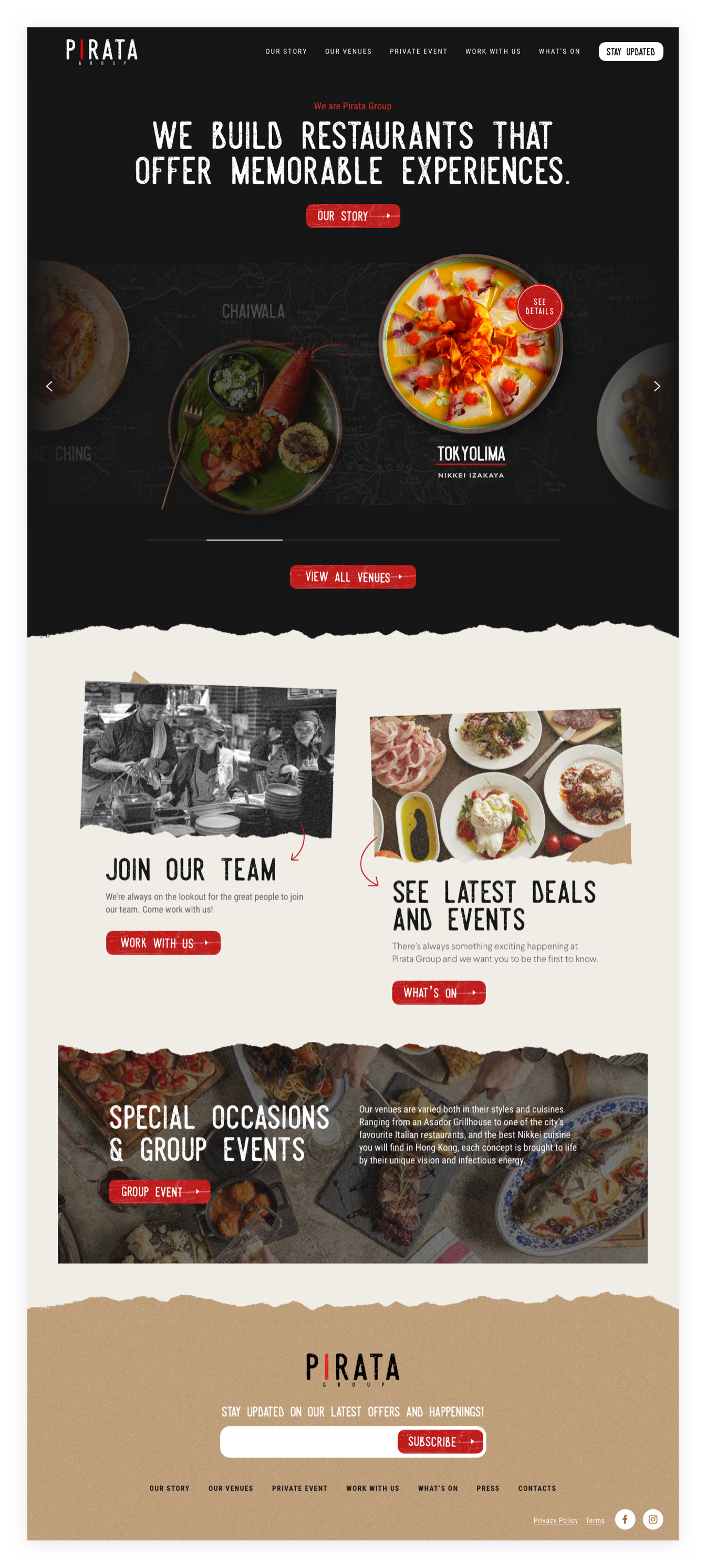 Pirata Group Site